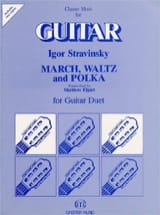 Marsch, Waltz and Polka - Guitar Duet STRAVINSKY laflutedepan