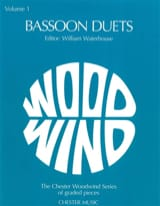 Bassoon duets – Volume 1 - Partition - Basson - laflutedepan.com