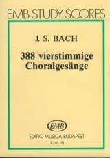 BACH - 388 Chorals - Conductor - Sheet Music - di-arezzo.co.uk