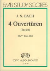 4 Ouvertüren (Suiten) BWV 1066-1069 – Partitur - laflutedepan.com