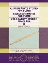 Bantai Vilmos / Kovacs Gabor - Selected Studies For Flute Volume 2 - Sheet Music - di-arezzo.co.uk