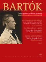 BARTOK - Ein Abend am Lande / Tanz der Slowaken - Klarinette - Partition - di-arezzo.fr