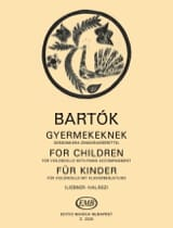 BARTOK - Für Kinder - Sheet Music - di-arezzo.co.uk