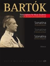 BARTOK - Sonatine - Klarinette Klavier - Sheet Music - di-arezzo.co.uk