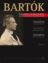 BARTOK - Sonatine - Klarinette Klavier - Sheet Music - di-arezzo.com