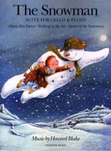 The Snowman - Suite for Cello and Piano Howard Blake laflutedepan.com