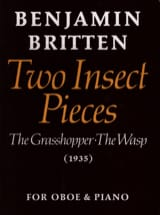 Benjamin Britten - 2 Insect pieces - Partition - di-arezzo.fr