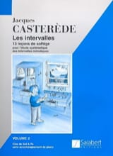 Jacques Casterède - Les Intervalles - Volume 2 - Partition - di-arezzo.fr