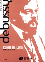DEBUSSY - Moonlight - Piano Flute - Sheet Music - di-arezzo.com