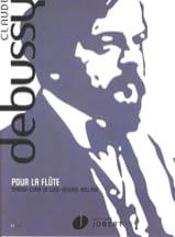 Pour la flûte - Claude Debussy - Partition - laflutedepan.com
