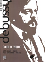 DEBUSSY - For the violin - Sheet Music - di-arezzo.co.uk