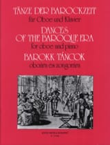 Tänze der Barockzeit -Oboe Klavier Oliver Nagy laflutedepan.com