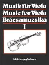 S. Gusztav Szeredi - Music for Viola, Volume 1 - Sheet Music - di-arezzo.co.uk