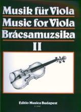 S. Gusztav Szeredi - Music for Viola, Volume 2 - Sheet Music - di-arezzo.com