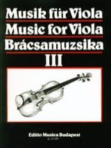 Music For Viola Volume 3 - S. Gusztav Szeredi - laflutedepan.com