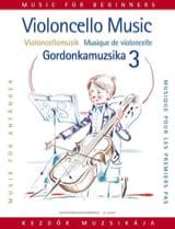 Musique pour les 1ers pas, Volume 3 - Violoncelle laflutedepan.com