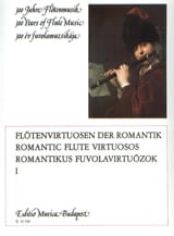 Lorant Kovacs - Romantic flute virtuosos - Volume 1 - Partition - di-arezzo.fr