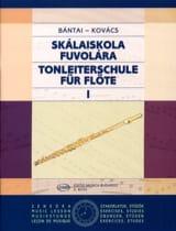 Bantai Vilmos / Kovacs Gabor - Tonleiterschule für Flöte - Bd. 1 - Partition - di-arezzo.ch