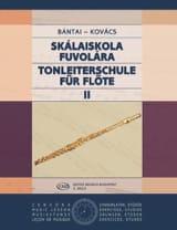 Bantai Vilmos / Kovacs Gabor - Tonleiterschule für Flöte - Bd. 2 - Partition - di-arezzo.ch