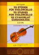 Friedrich Dotzauer - 113 Etüden für Violoncello - Heft 1 1-34 - Sheet Music - di-arezzo.co.uk