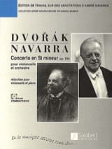 DVORAK - Cello Concerto in B Minor, Op. 104 Navarra - Sheet Music - di-arezzo.com