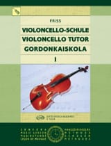 Antal Friss - Violoncello Tutor - Volume 1 - Partition - di-arezzo.fr