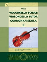 Violoncello Tutor Volume 2 Antal Friss Partition laflutedepan.com