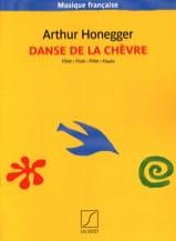 Danse de la chèvre Arthur Honegger Partition laflutedepan.com