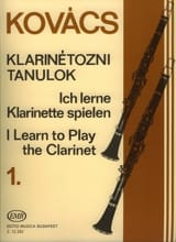 I learn to play the clarinet - Volume 1 Béla Kovacs laflutedepan.com