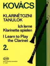 I learn to play the clarinet - Volume 2 Béla Kovacs laflutedepan.com