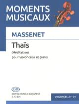 Méditation de Thaïs – Violoncelle - Jules Massenet - laflutedepan.com