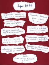 Variations hongroises Lajos Papp Partition Violon - laflutedepan.com