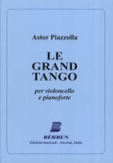 Astor Piazzolla - The Grand Tango - Cello - Sheet Music - di-arezzo.co.uk