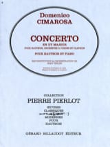 Domenico Cimarosa - Concerto in C Major - Oboe - Sheet Music - di-arezzo.com