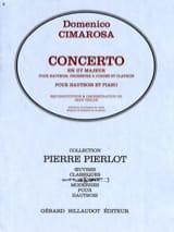 Domenico Cimarosa - Concerto en Ut Majeur – Hautbois - Partition - di-arezzo.fr