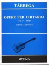 Opere Per Chitarra Volume 2 : Studi - laflutedepan.com