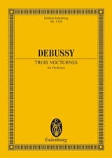 DEBUSSY - Three Nocturnes - Sheet Music - di-arezzo.com