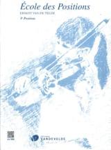 VAN DE VELDE - School of Positions - 3rd position - Sheet Music - di-arezzo.co.uk