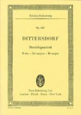 Carl Ditters Von Dittersdorf - Streich-Quartett B-Dur - Partition - di-arezzo.fr