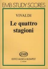 Antonio Vivaldi - Le quattro stagioni – Partitura - Partition - di-arezzo.fr