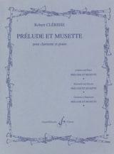 Robert Clérisse - Prélude et Musette - Partition - di-arezzo.fr
