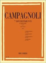 7 Divertimenti op. 18 - Bartolomeo Campagnoli - laflutedepan.com