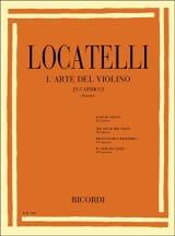 L'art du violon - 25 Caprices LOCATELLI Partition laflutedepan