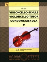 Antal Friss - Violoncello Tutor - Volume 5 - Sheet Music - di-arezzo.co.uk