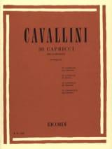 Ernesto Cavallini - 30 Capricci - Sheet Music - di-arezzo.com