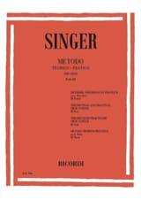 Sigismondo Singer - Metodo Theorico-Pratico - Oboe - Volume 3 - Sheet Music - di-arezzo.co.uk