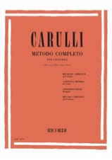 Méthode complète de guitare Ferdinando Carulli laflutedepan.com