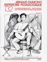 Arnaud Dumond - Répertoire pédagogique – Volume 1 - Partition - di-arezzo.fr