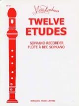 12 Etudes - Flûte à bec Soprano - Mario Duschenes - laflutedepan.com