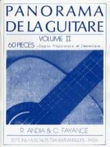 Panorama de la Guitare Volume 2 laflutedepan.com